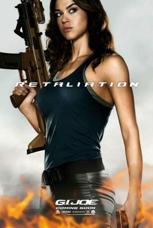 G.I. Joe: La vendetta, character poster per Lady Jaye (Adrianne Palicki)