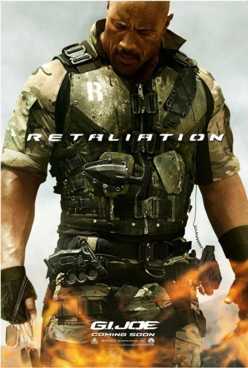 G.I. Joe: La vendetta, character poster per Roadblock (Dwayne Johnson)
