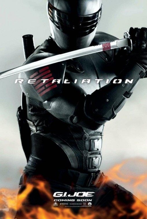G.I. Joe: La vendetta, character poster per Snake Eyes (Ray Park)
