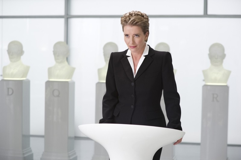 Men in Black 3: Emma Thompson in una scena del film