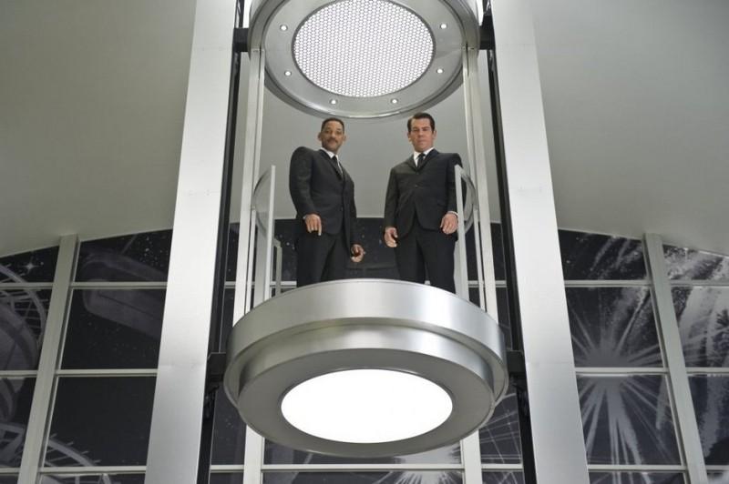 Men in Black 3: Josh Brolin e Will Smith in una scena del film