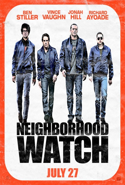 Neighborhood Watch: nuovo poster