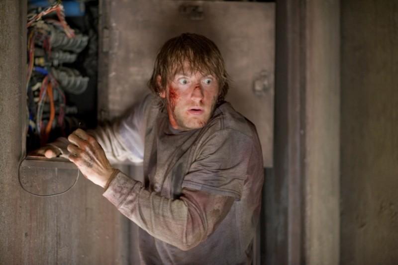 Quella casa nel bosco: Fran Kranz riesce ad azionare l'ascensore per l'inferno in una scena del film