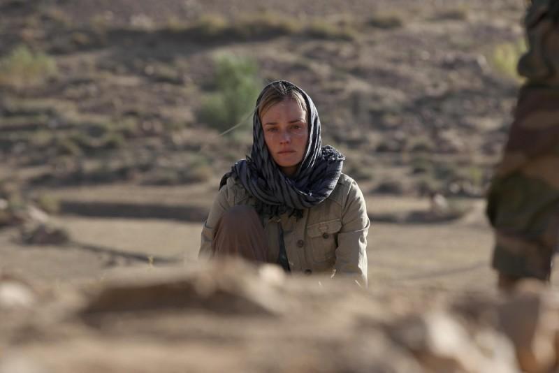 Special Forces: Diane Kruger in lacrime in una scena del film