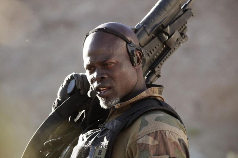 Special Forces - Liberate l'ostaggio: Djimon Hounsou in un'immagine del film