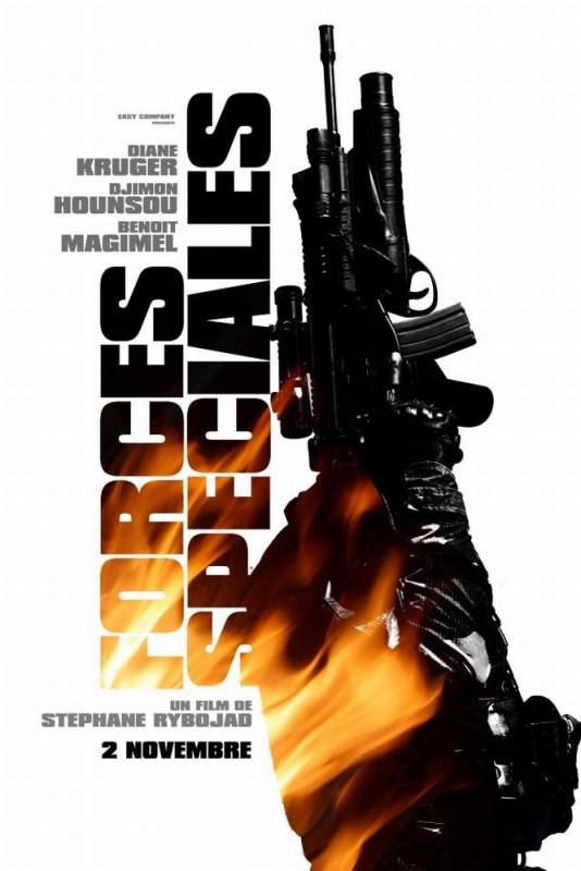 Special Forces - Liberate l'ostaggio: una delle locandine francesi del film