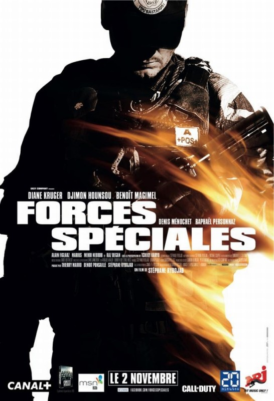 Special Forces - Liberate l'ostaggio: uno dei poster francesi del film