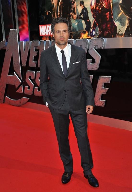 The Avengers: Mark Ruffalo a Londra sul red carpet del cinema Vue Westfield per la première inglese del film
