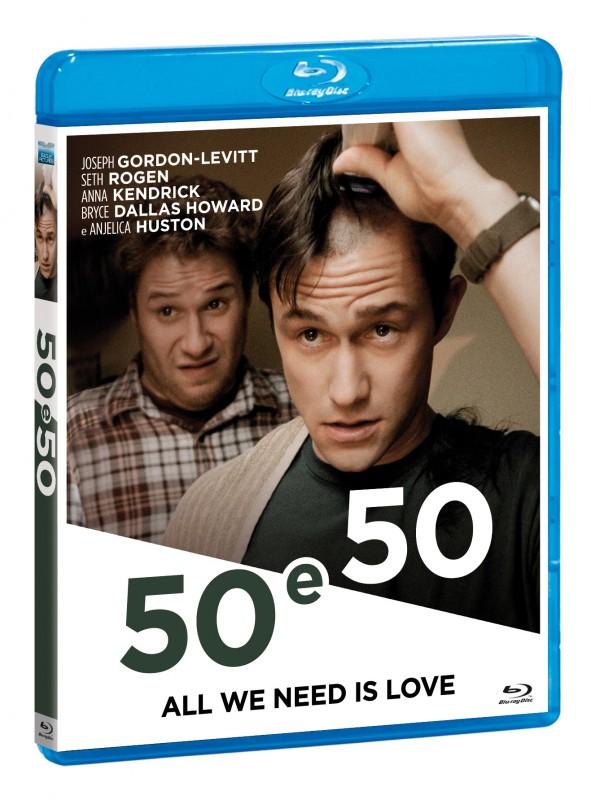 La copertina di 50 e 50 (blu-ray)