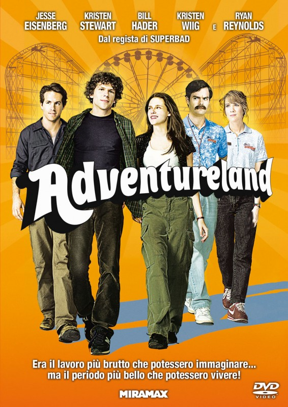 La copertina di Adventureland (dvd)