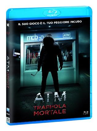 La copertina di ATM - Trappola mortale (blu-ray)