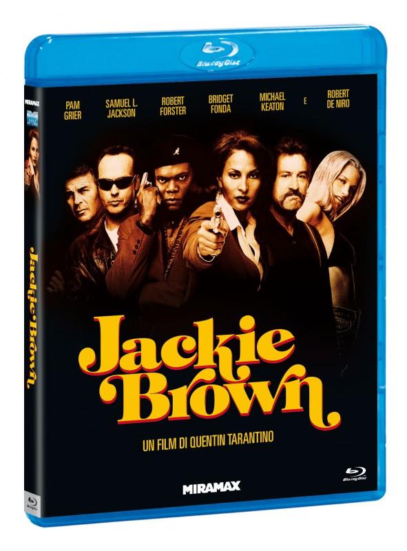 La copertina di Jackie Brown (blu-ray)