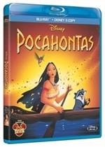 La copertina di Pocahontas (blu-ray)