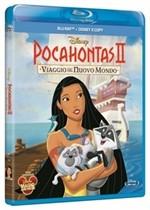 La copertina di Pocahontas II - Viaggio nel nuovo mondo (blu-ray)