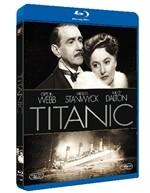La copertina di Titanic (1953) (blu-ray)
