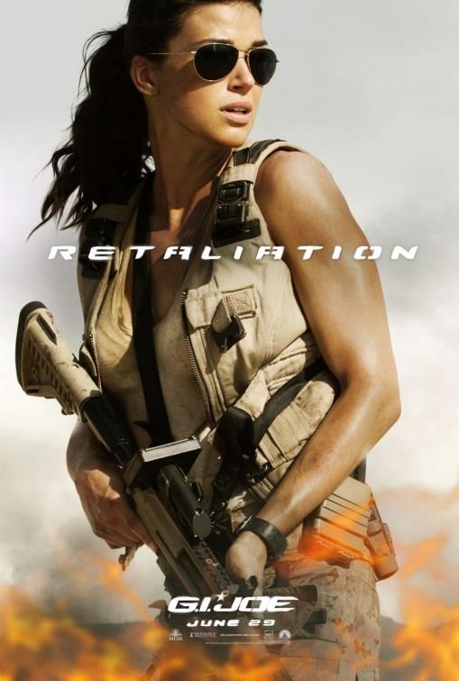 G.I. Joe: La vendetta, character poster 2 per Lady Jaye (Adrianne Palicki)