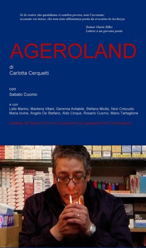 Ageroland: il poster del documentario di Carlotta Cerquetti