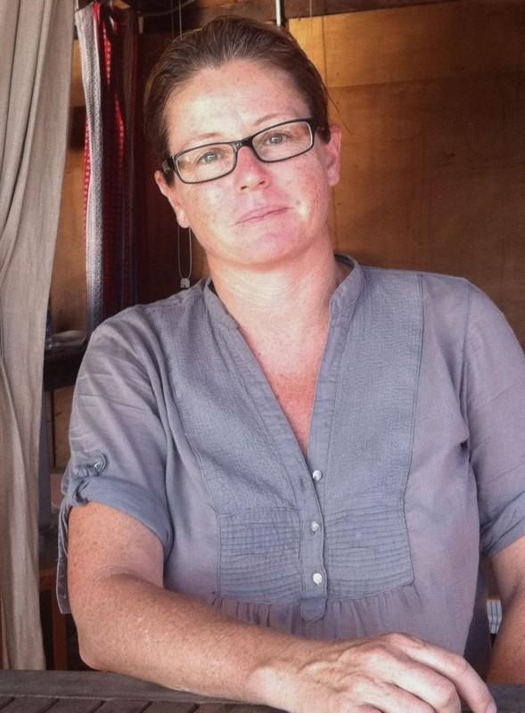 Ageroland: la regista Carlotta Cerquetti in una foto promozionale del film