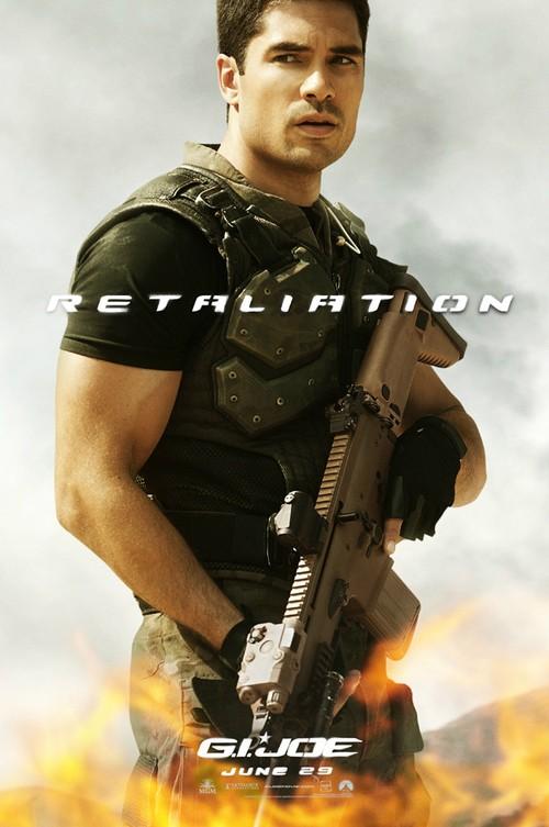 G.I. Joe: La vendetta, character poster per Flint (D.J. Cotrona)