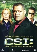 La copertina di CSI: Crime Scene Investigation - Stagione 10 Vol. 1 (dvd)