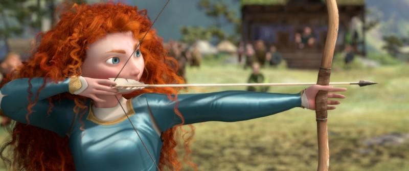 Ribelle - The Brave: la rossa Merida in azione col suo arco