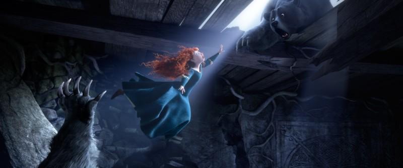 Ribelle - The Brave: Merida in una scena dell'attesissimo nuovo film della Pixar