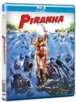 La copertina di Piranha (blu-ray)