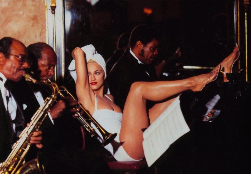 Madonna in una immagine promo per il film A letto con Madonna