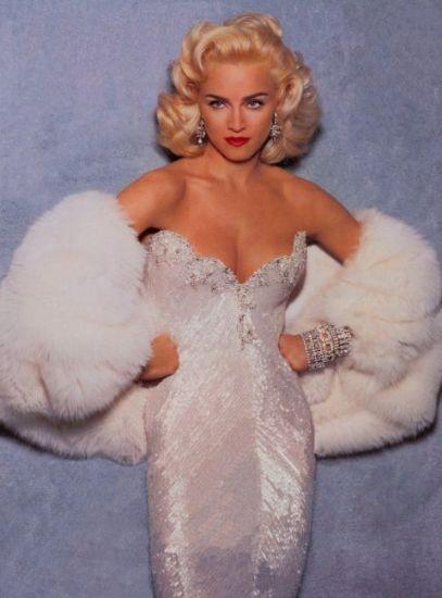 Madonna in uno scatto di Steven Meisel (1991)