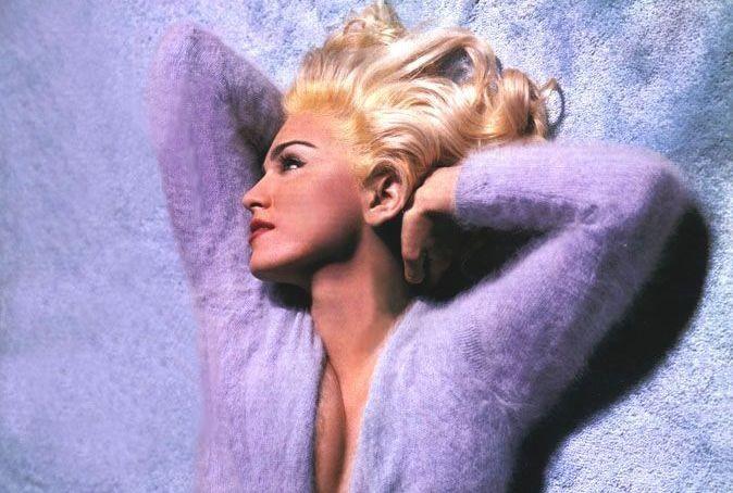 Madonna in uno splendido scatto di Steven Meisel (1991)