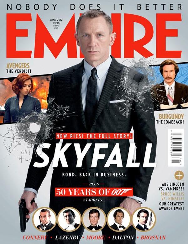 Copertina di Empire dedicata a Skyfall