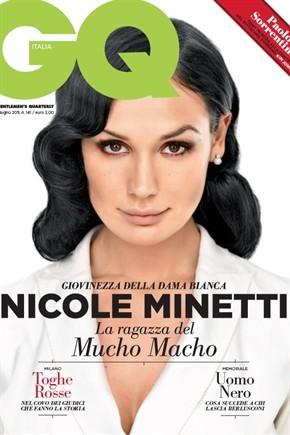 Nicole Minetti in cover su GQ