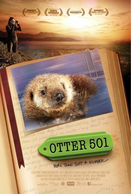 Otter 501: la locandina del film