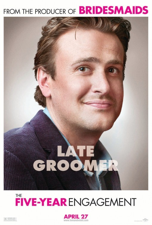 The Five-Year Engagement: character poster per Jason Segel