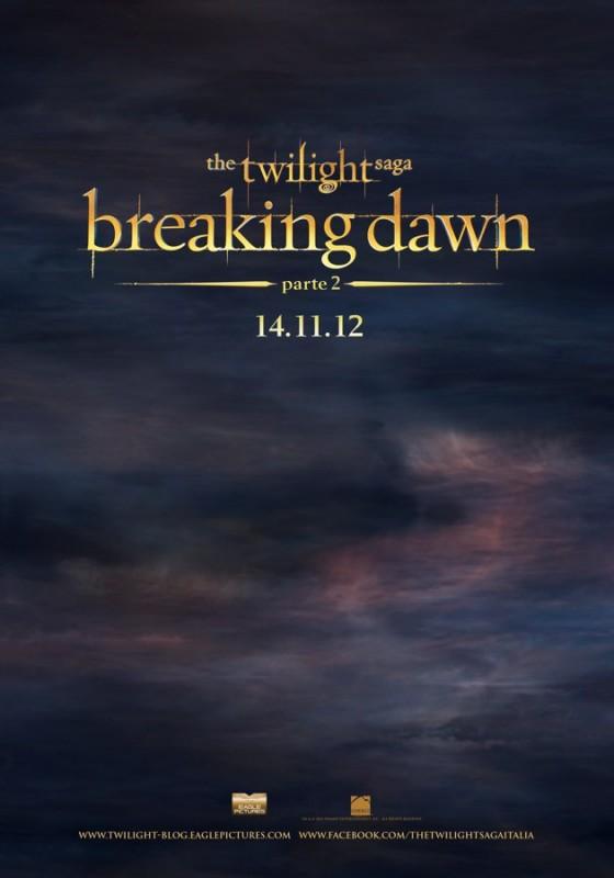 The Twilight Saga: Breaking Dawn - Parte : ecco il teaser poster italiano