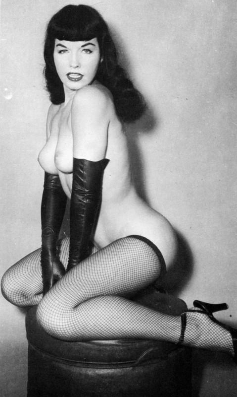 Bettie Mae Page, celebre pin-up degli anni '50