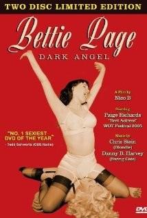 Bettie Page: Dark Angel: la locandina del film