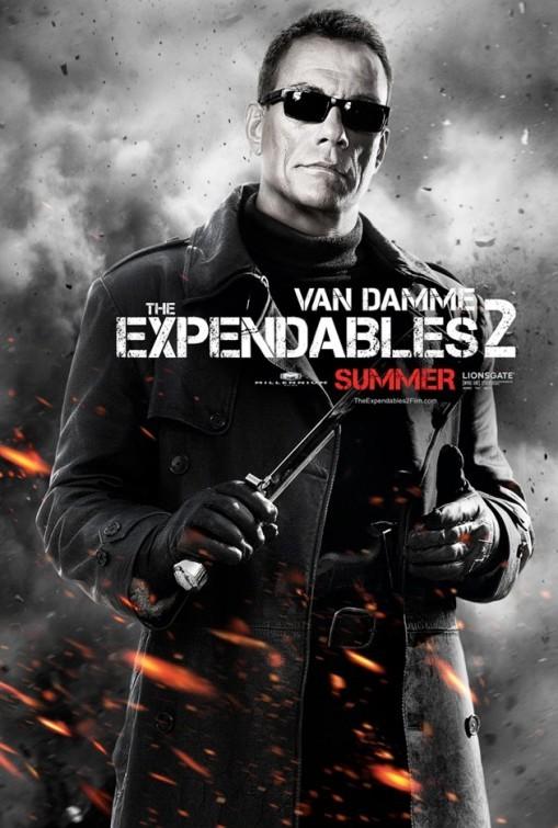 I mercenari 2 (The Expendables 2): character poster per Jean-Claude Van Damme