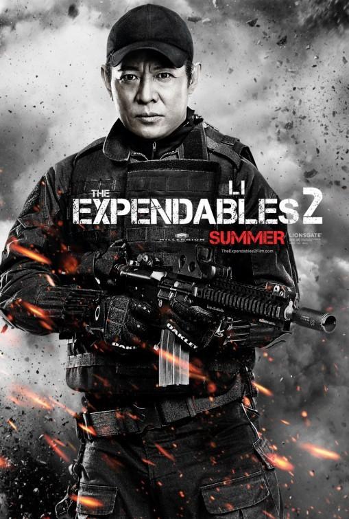 I mercenari 2 (The Expendables 2): character poster per Jet Li