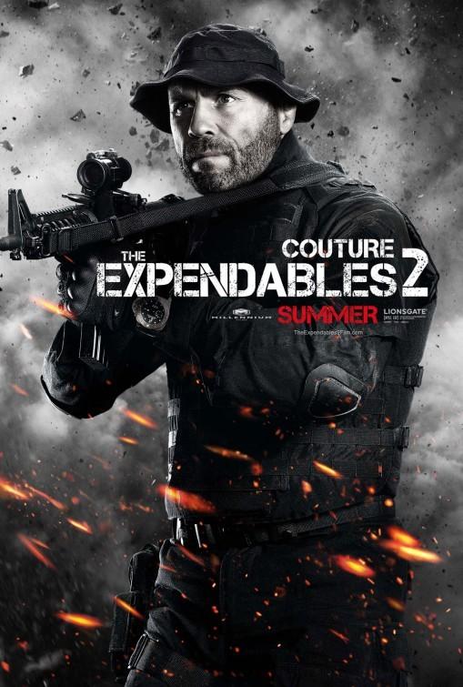 I mercenari 2 (The Expendables 2): character poster per Randy Couture