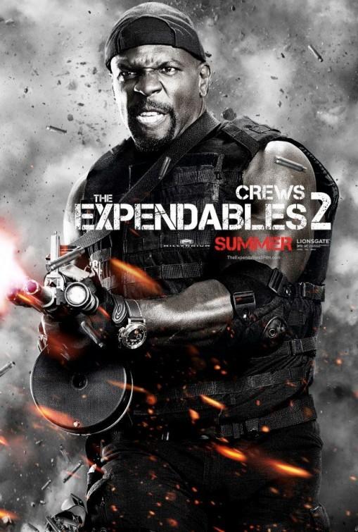 I mercenari 2 (The Expendables 2): character poster per Terry Crews