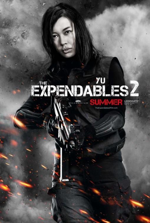 I mercenari 2 (The Expendables 2): character poster per Yu Nan