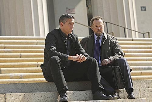 Person of Interest: James Caviezel e David Costabile in una scena dell'episodio Judgement