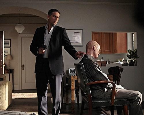 Person of Interest: James Caviezel e Kent Broadhurst nell'episodio Foe