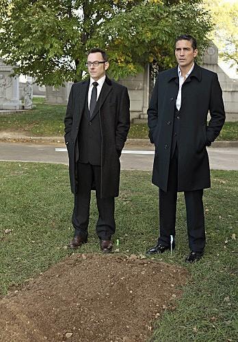Person of Interest: James Caviezel e Michael Emerson nell'episodio Foe