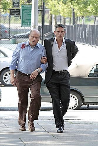 Person of Interest: James Caviezel ed Enrico Colantoni nell'episodio Witness