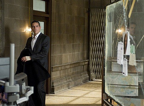 Person of Interest: James Caviezel in una scena dell'episodio Legacy