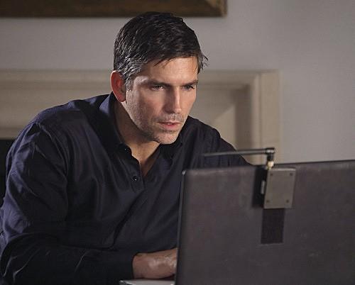 Person of Interest: James Caviezel in una scena dell'episodio Super