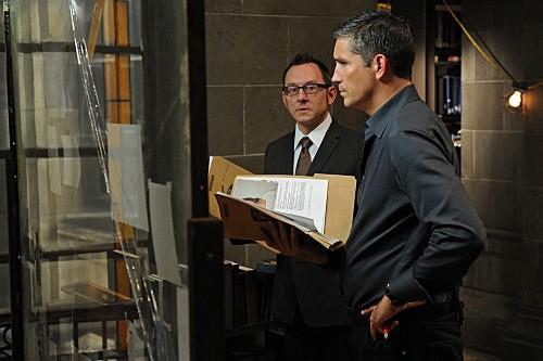 Person of Interest: Jim Caviezel e Michael Emerson nell'episodio Mission Creep
