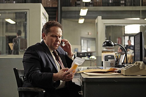 Person of Interest: Kevin Chapman in una scena dell'episodio Super
